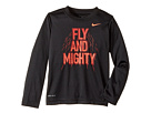 Nike Kids Fly and Mighty Dri-Fit Long Sleeve Tee (Toddler)