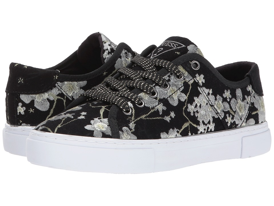 GUESS Goodone (Black/Gold Embroidery) Women