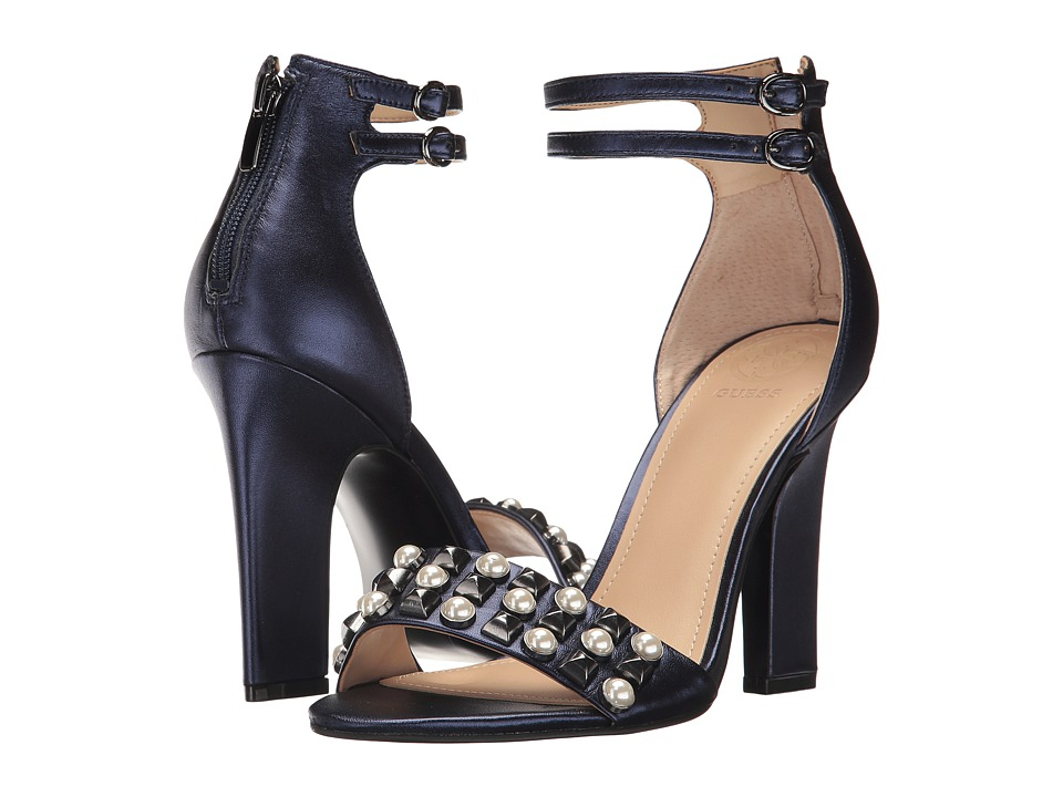 GUESS Petunia (Navy Leather) High Heels