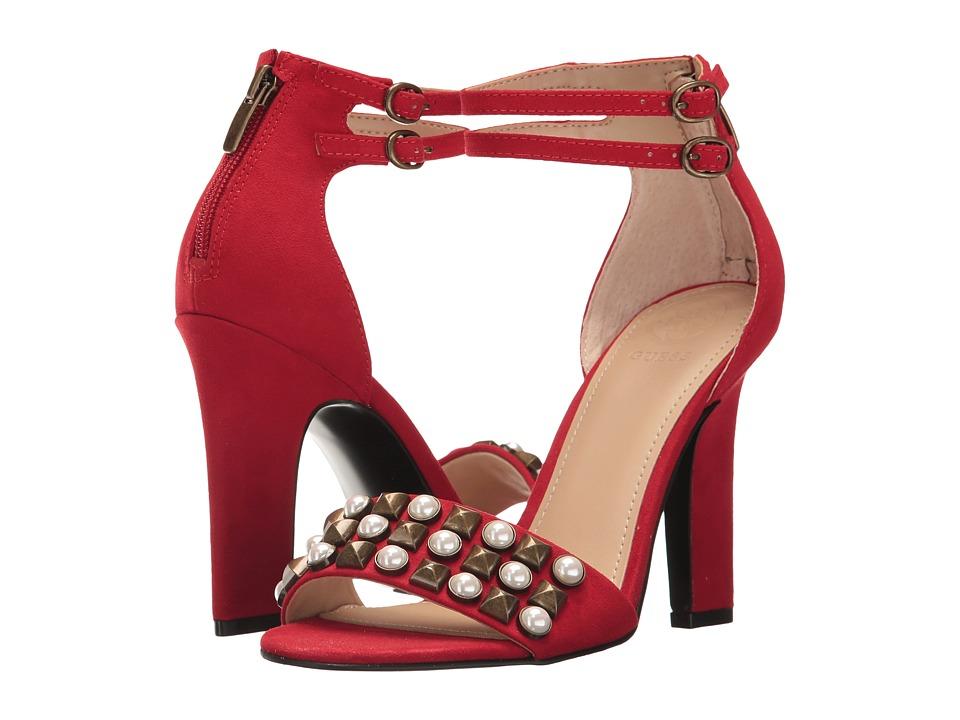 GUESS Petunia (Red Fabric) High Heels
