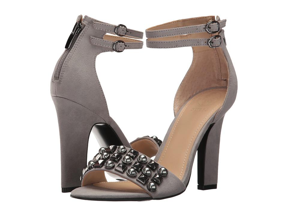 GUESS Petunia (Grey Fabric) High Heels