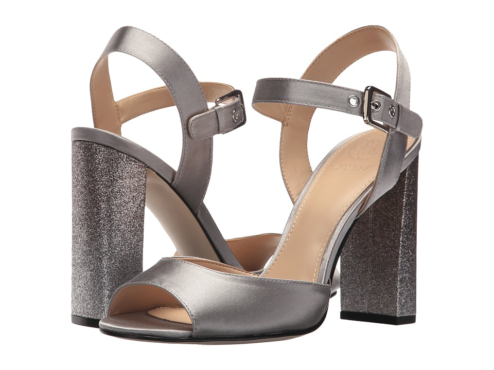 GUESS Dedee (Grey Satin) High Heels