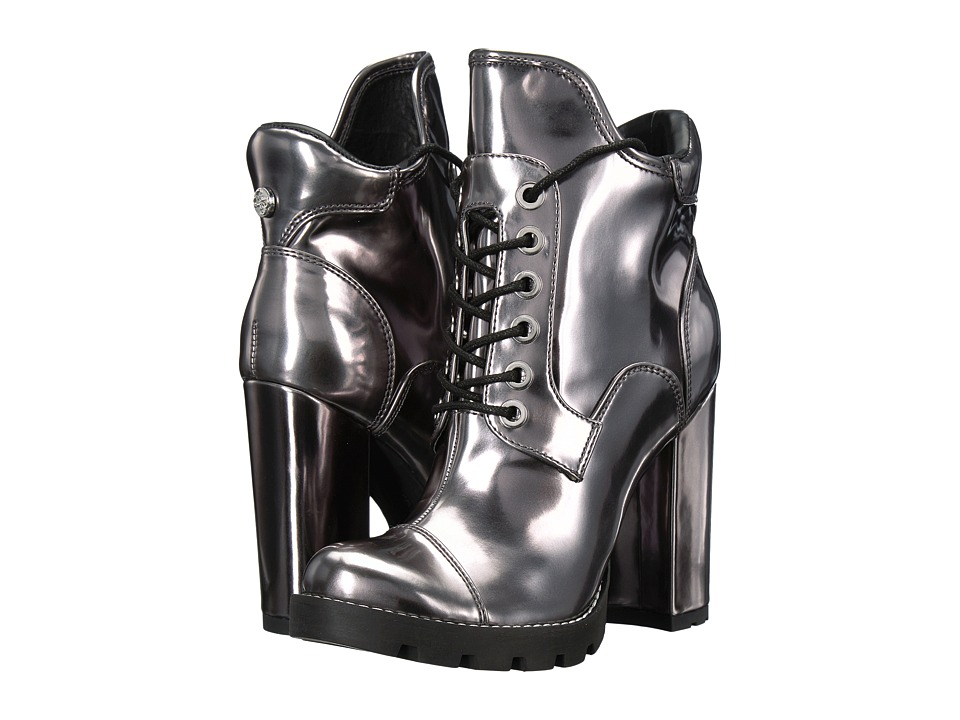 GUESS Roxey (Pewter Synthetic) Women