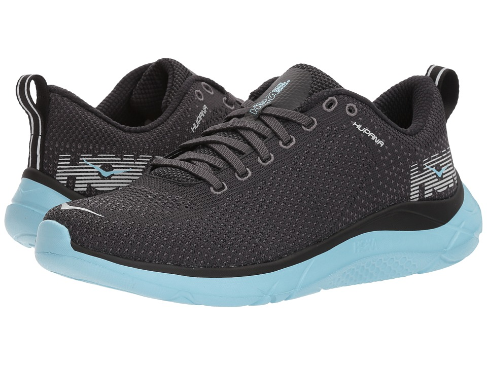 Hoka One One Hupana 2 (Black/Sky Blue) Women's Running Shoes