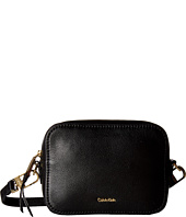 Calvin Klein - Erica Pebble Leather Camera Crossbody Bag