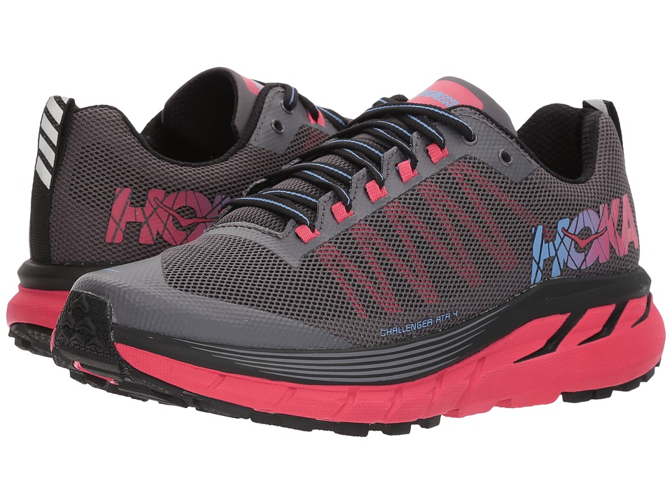 Hoka One One Challenger ATR 4 (Black/Azalea) Women's Running Shoes
