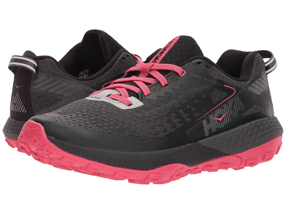 Hoka One One Speed Instinct 2 (Black/Azalea) Women's Running Shoes