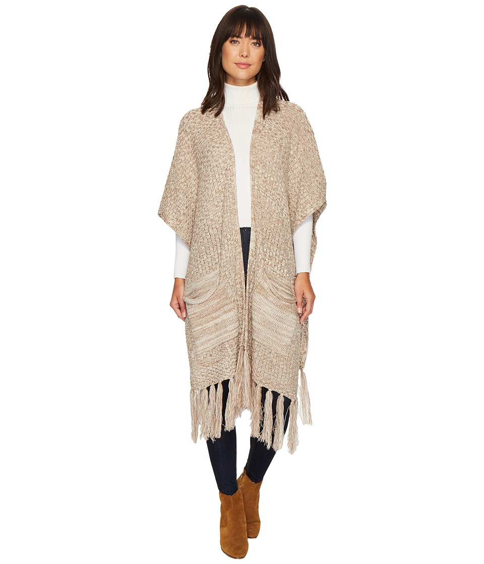 Bindya - Fringe Open Wearable Ruana