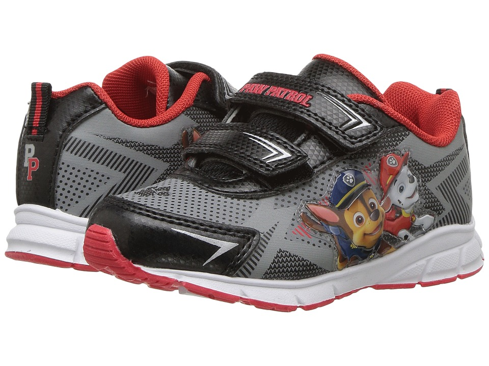 Josmo Kids Paw Patrol Sneakers (Toddler/Little Kid) (Grey/Black) Boy's Shoes