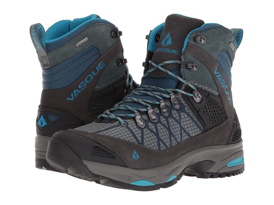 Vasque Saga GTX (Dark Slate/Majolica Blue) Women