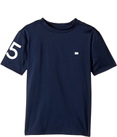 Tommy Hilfiger Kids - 85 Athletic Tee (Toddler/Little Kids)