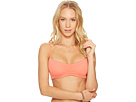 Roxy Softly Love Reversible Athletic Triangle Bikini Top