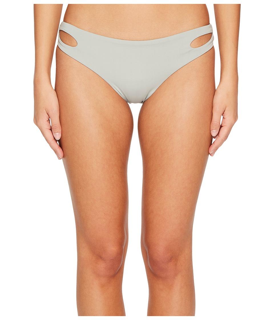 Roxy Softly Love Reversible Scooter Bikini Bottom (Wrought Iron) Women