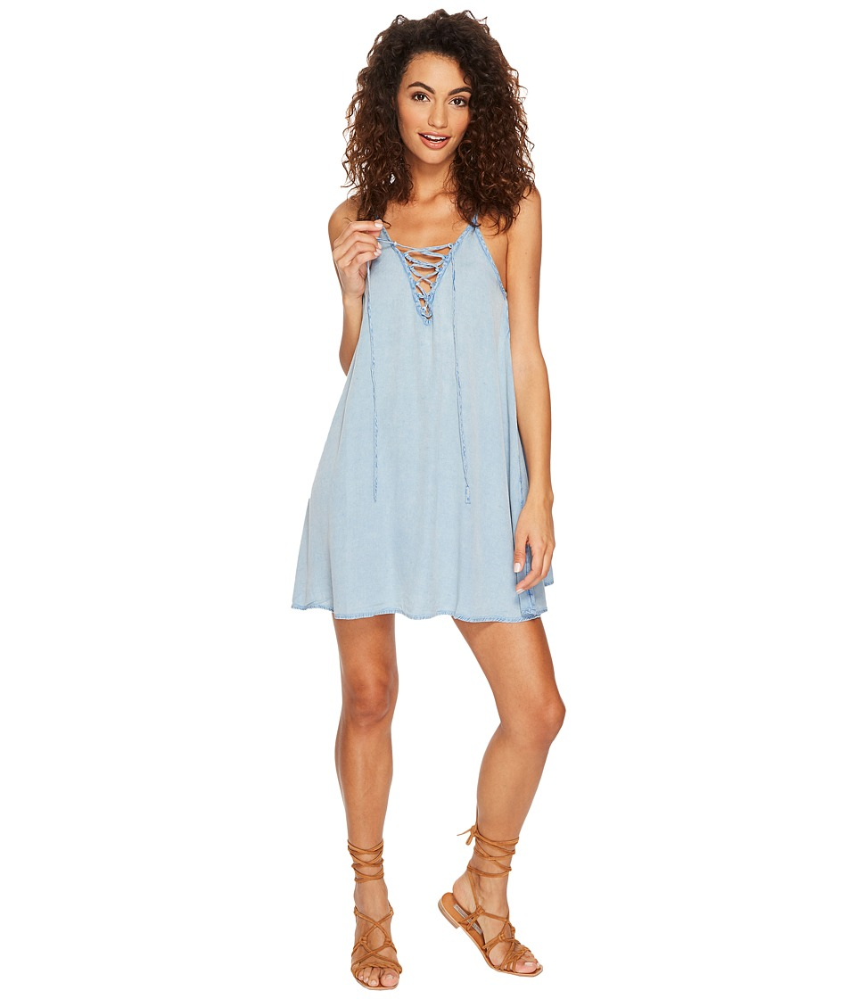 Roxy Softly Love Dress Cover-Up (China Blue)