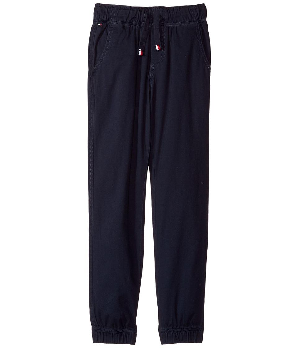 etounes tommy hilfiger kids printed plaid leggings big kids swim navy girls casual pants. Black Bedroom Furniture Sets. Home Design Ideas