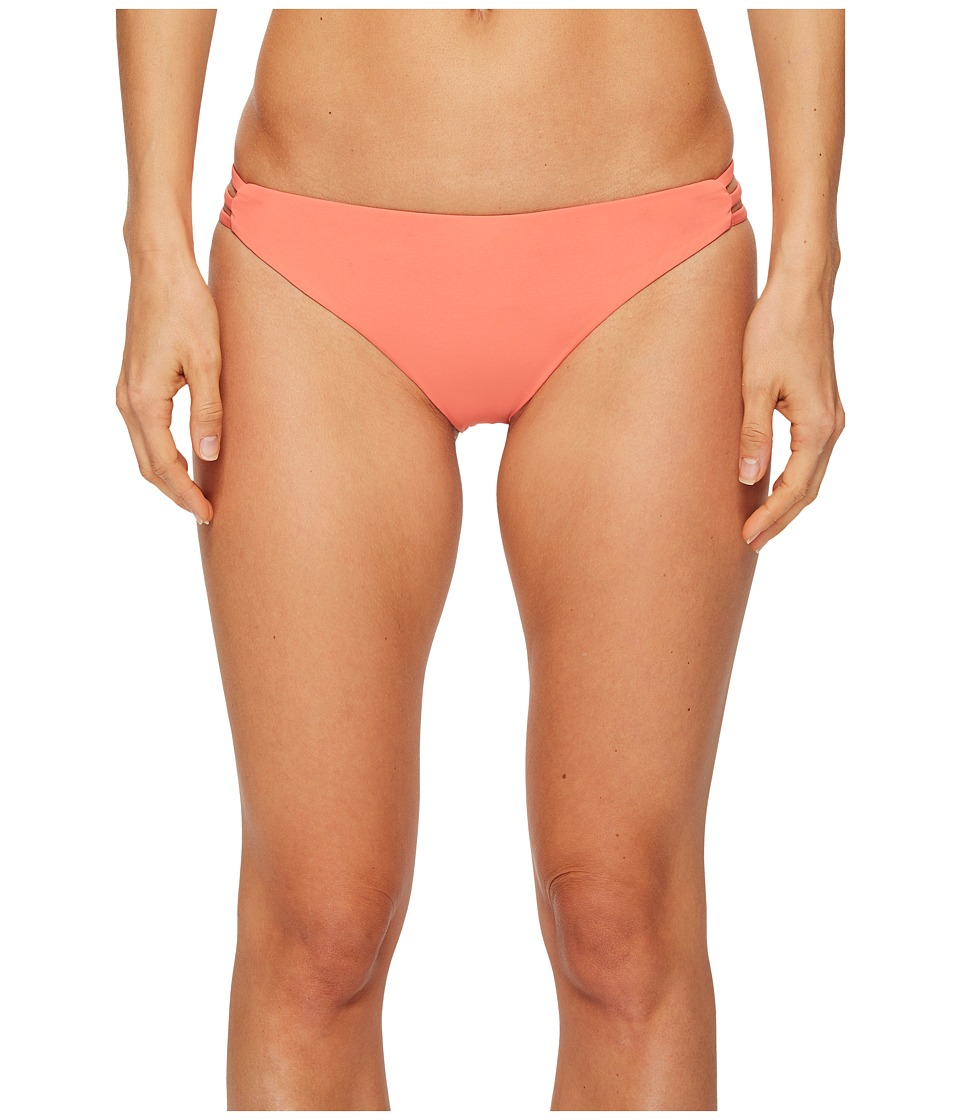 Roxy Softly Love Surfer Bikini Bottom (Porcelain Rose) Women