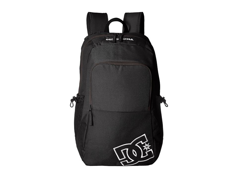 DC Detention II (Black) Backpack Bags