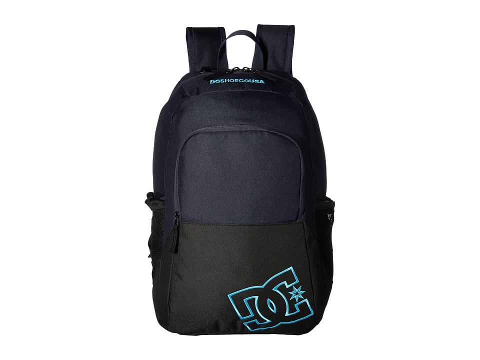 DC Detention II (Dark Indigo) Backpack Bags