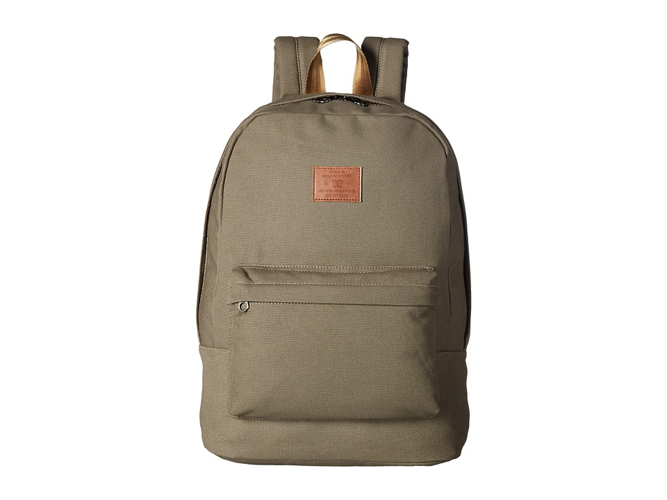 DC Bunker Canvas (Dusky Green) Backpack Bags