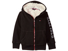 Tommy Hilfiger Kids Sherpa Lining Full Zip Hoodie (Toddler)