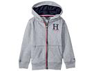 Tommy Hilfiger Kids Matt Logo Hilfiger Hoodie (Toddler)