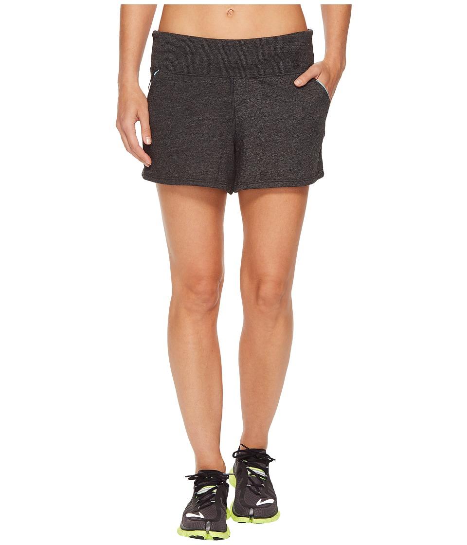 Brooks - Revival Shorts (Heather Black) Womens Shorts