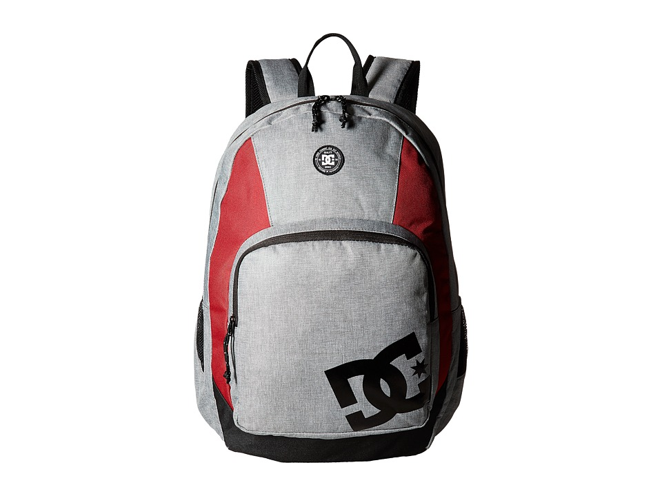 DC The Locker Backpack (Grey Heather) Backpack Bags