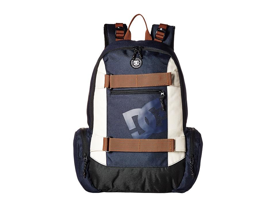 DC The Breed Backpack (Dark Indigo) Backpack Bags