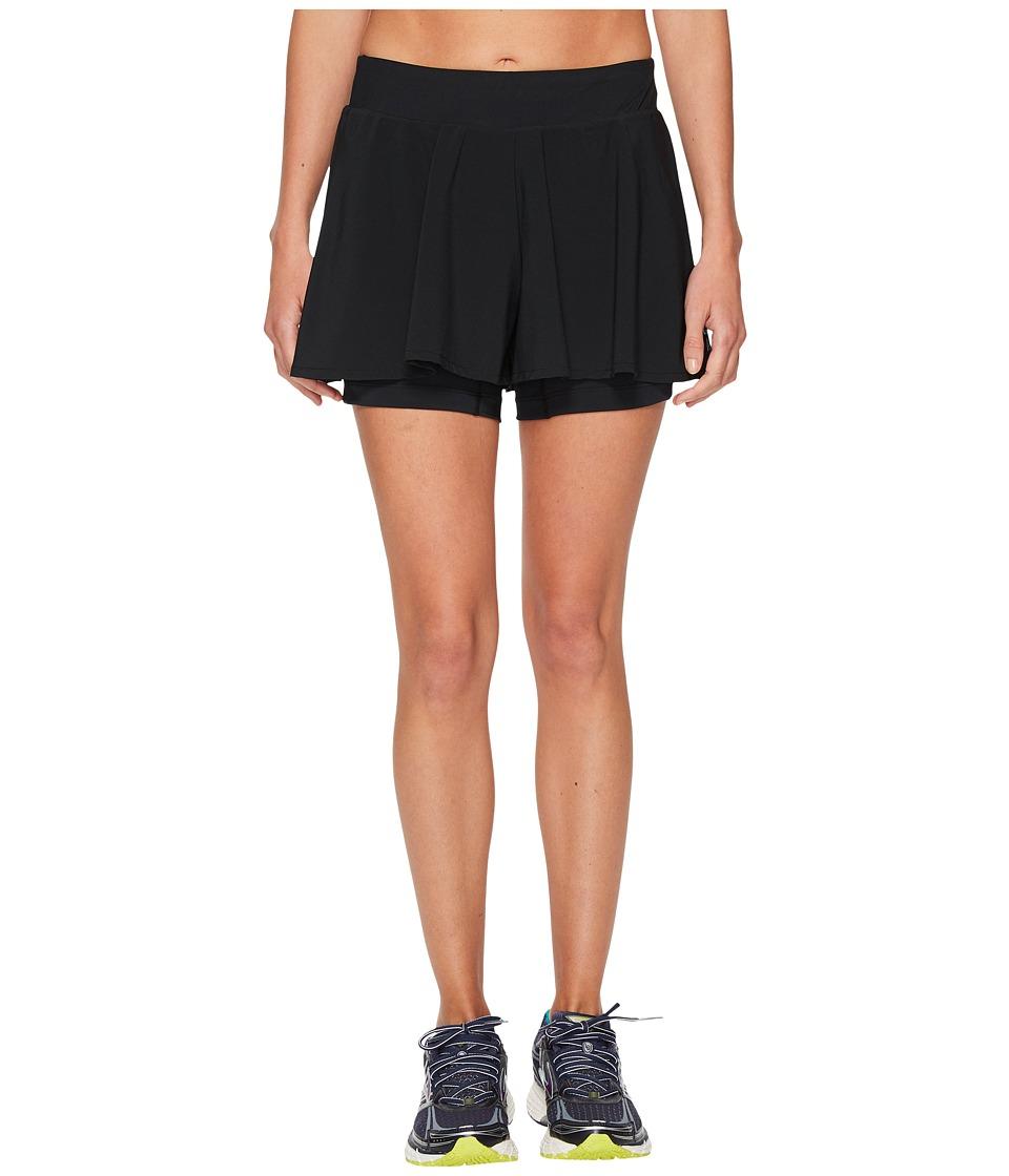 Brooks - Avenue Shorts (Black) Womens Shorts
