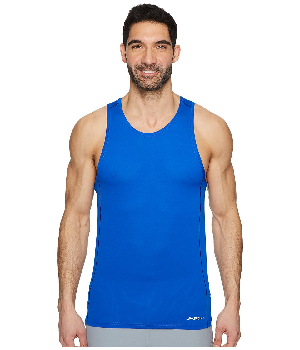 Brooks - Ghost Tank Top (Royal) Mens Workout