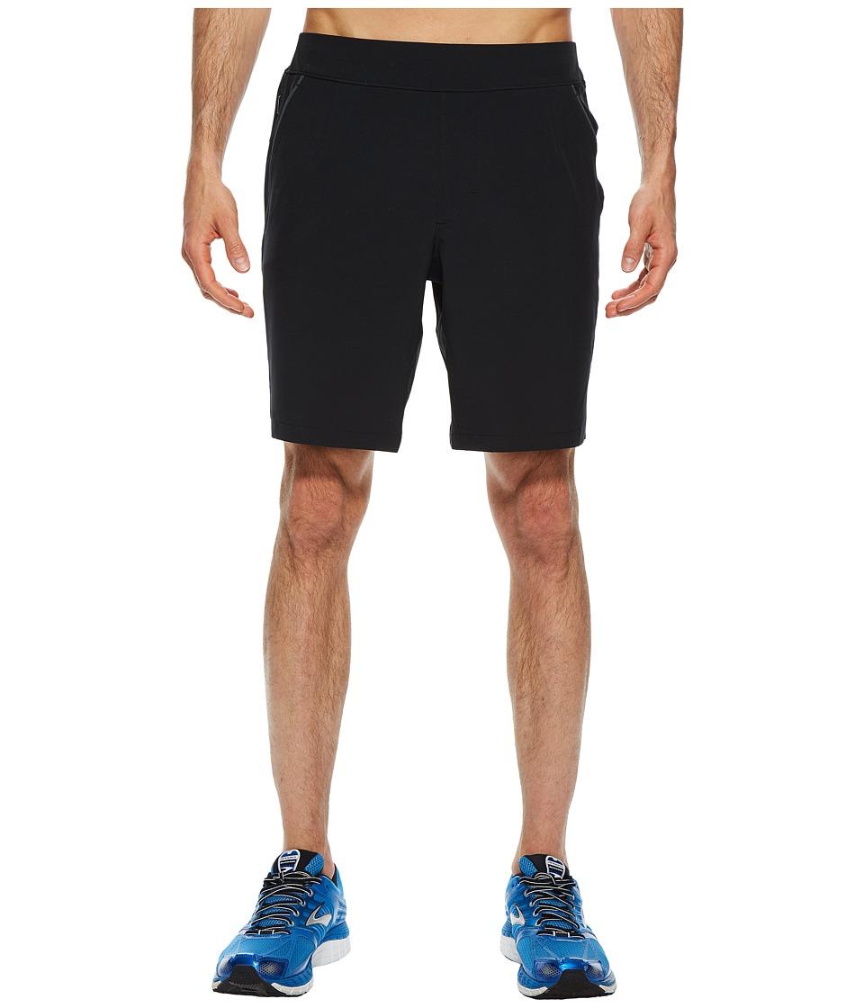 Brooks - Fremont 9 Linerless Shorts (Black) Mens Shorts
