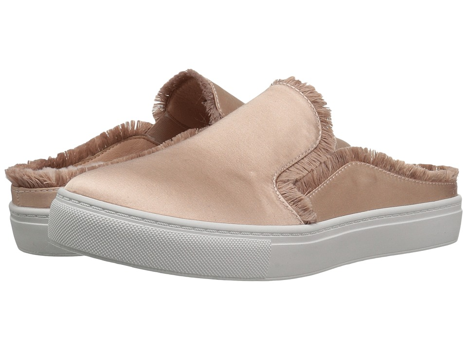 Dirty Laundry Miss Jaxon Faux Fur Lined Mule Sneaker (Summer Nude) Women