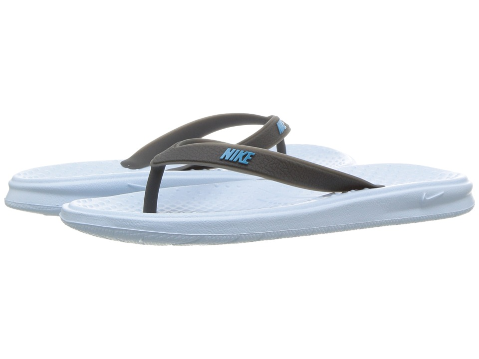 Nike Kids - Solay Thong (Little Kid/Big Kid) (Cobalt Tint/Neo Turquoise/Anthracite) Girls Shoes