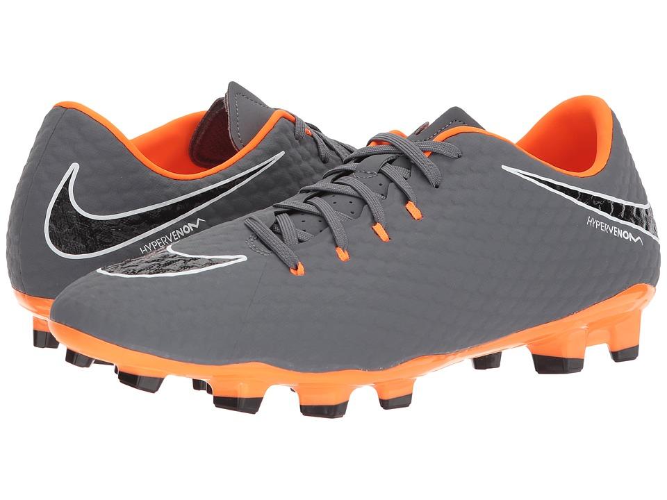 Nike Hypervenom Phantom 3 Academy FG (Dark Grey/Total Ora...