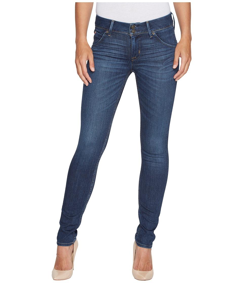 Hudson Collin Mid-Rise Skinny Jeans in Spellbound (Spellbound) Women