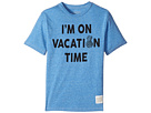 The Original Retro Brand Kids - I'm on Vacation Time Tri-Blend Tee (Big Kids)