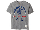The Original Retro Brand Kids - Brooklyn All City Champ Short Sleeve Tri-Blend Tee (Big Kids)