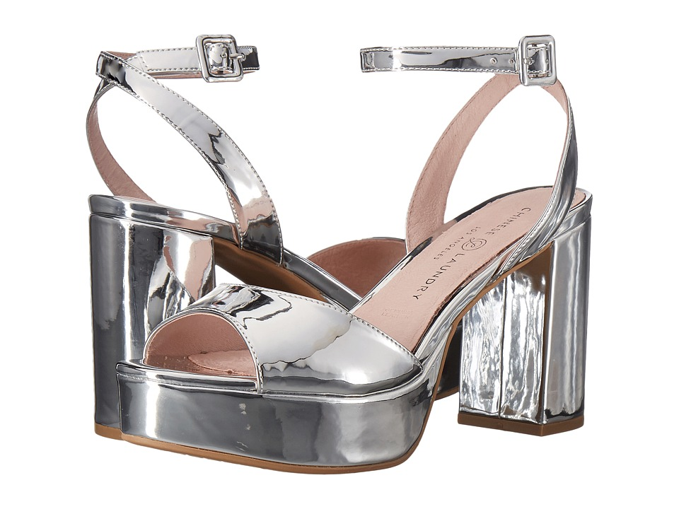 Chinese Laundry Theresa (Silver Mirror) High Heels
