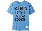 The Original Retro Brand Kids Kind Is The New Cool Short Sleeve Tri-Blend Crew (Big Kids)