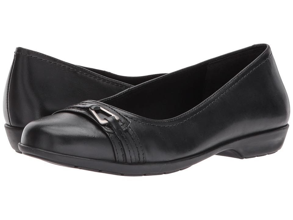 Walking Cradles Flynn (Black Leather) Women's Shoes