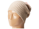 Hat Attack - Lightweight Rib Watch Cap with Knit Pom