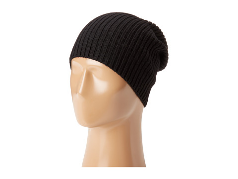 Hat Attack Lightweight Rib Watch Cap - Black