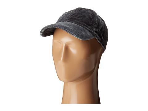 Hat Attack Velvet Baseball Cap - Grey