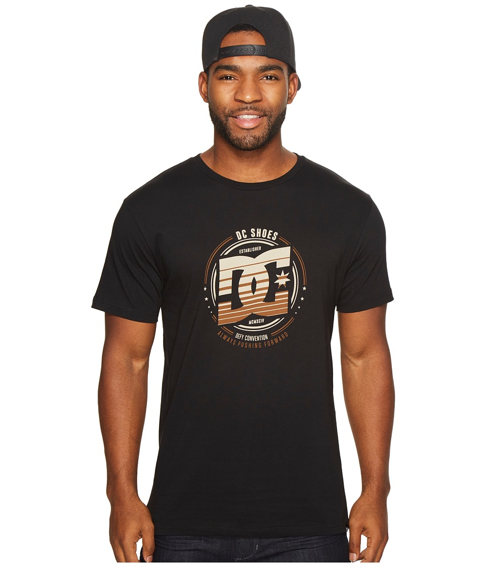 DC Heraldry Tee (Black) Men