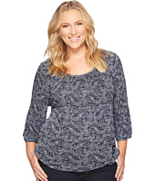 MICHAEL Michael Kors - Plus Size Willow Peasant Top