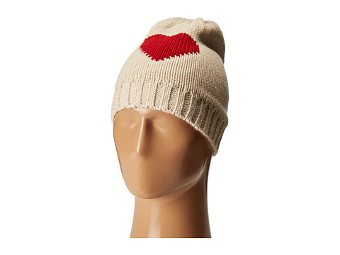 Hat Attack Novelty Reversible Beanie - Heart