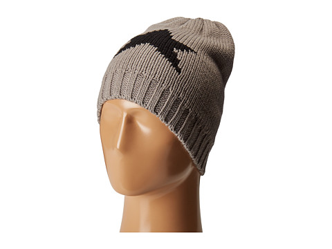Hat Attack Novelty Reversible Beanie - Star