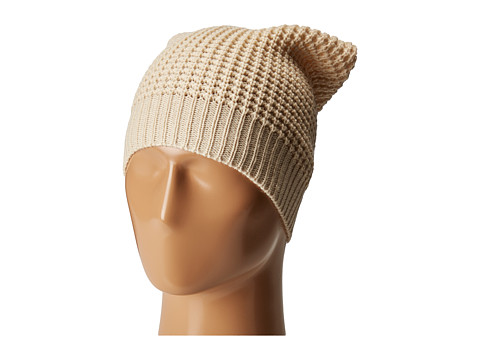 Hat Attack Waffle Knit Beanie - Oat