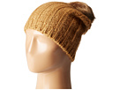 Hat Attack Rib Slouchy with Faux Fur Pom