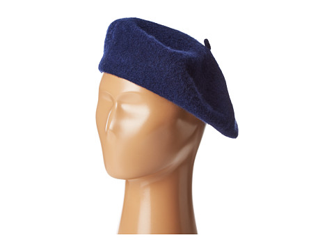 Hat Attack Wool Beret - Navy